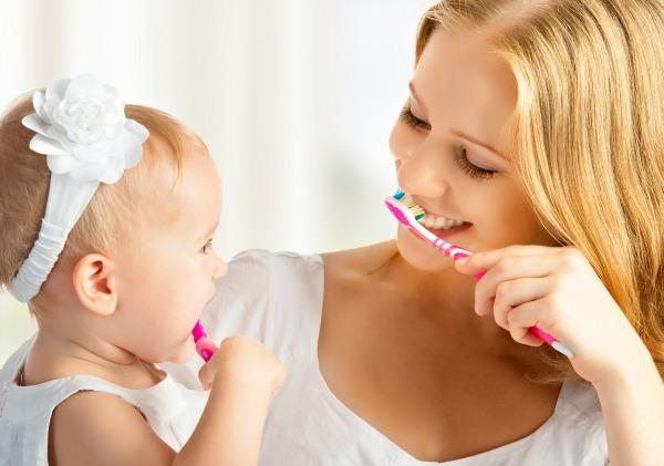 bedtime dental routine
